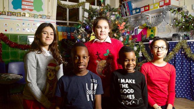Children survivors of Grenfell Tower