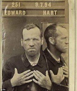 Edward Hart mugshot