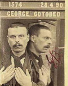 Mugshot George Gotobed