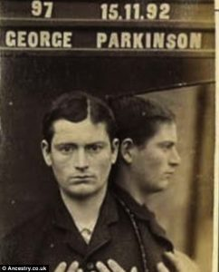 Mugshot George Parkinson