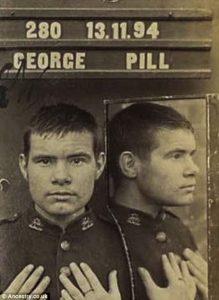 Mugshot George Pill