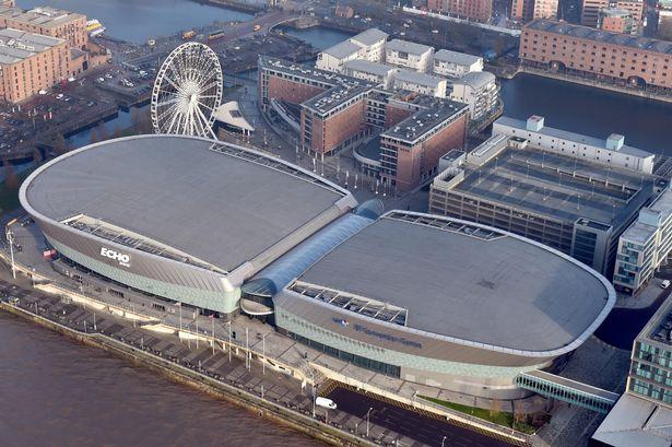 Aerial view of car park