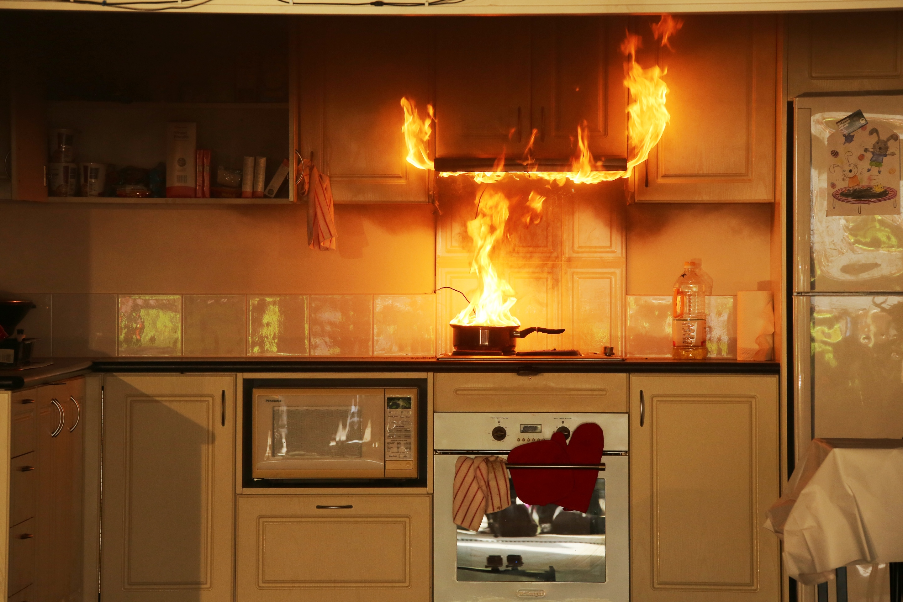 How To Prevent Home Kitchen Fire
