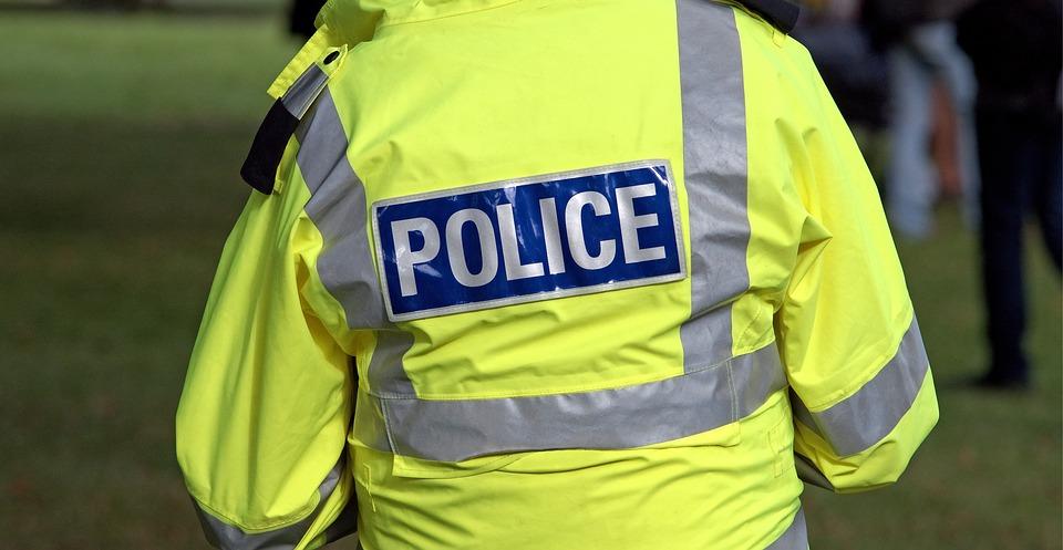 Police officer in high-vis